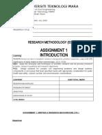 ASSIGNMENT 1 MAC 2020