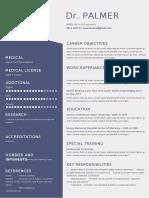 doctor Resume