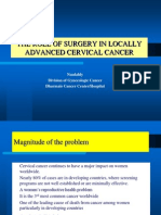 The Role of Surgery in Locally Advanced Cervical Cancer