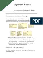 UML TD2 _ Diagrammes de classes, héritage