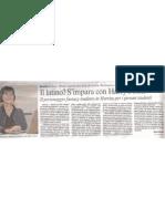 """""""Corriere della Sera"""" - """"Corriere del Trentino"""" 11 dic 2010 pg29"""