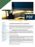 DEFINICIONES DE PATRONES DE FLUJO Y CLASIFICACIONES