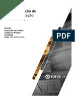 MIT044 - CODPROJETO - Especificação de Personalização