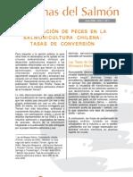 Alimentación de peces en la salmonicultura chilena_Tasas de Conversión_INTESAL