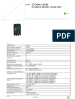 Disjuntores EasyPact EZC_EZC400H3320N
