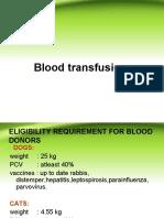 Blood Transmission