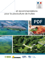 Reflexions recommendations Truite 2011