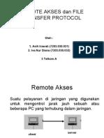 11. Remote Akses Dan File Transfer Protocol
