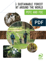 PEFC Promoting Sustainable Forest Management - PEFC & FSC