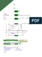 Slab Canopy Design Spreadsheet