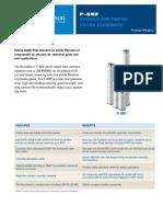 P-SRF-Ficha tecnica Filtro esteril aire