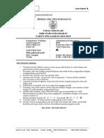 Soal Ujian sekolah teori kejuruan paket A 2014