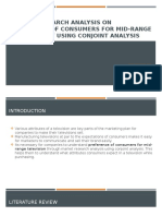 MARKET RESEARCH ANALYSIS ON CONSUMER BUYING BEHAVIOUR OF - Copy