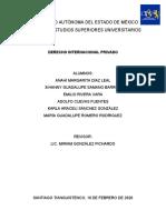 Derecho Internacional Privado - Equipo 1