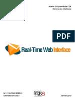 Real Time Web Interface par Stéphane PERES