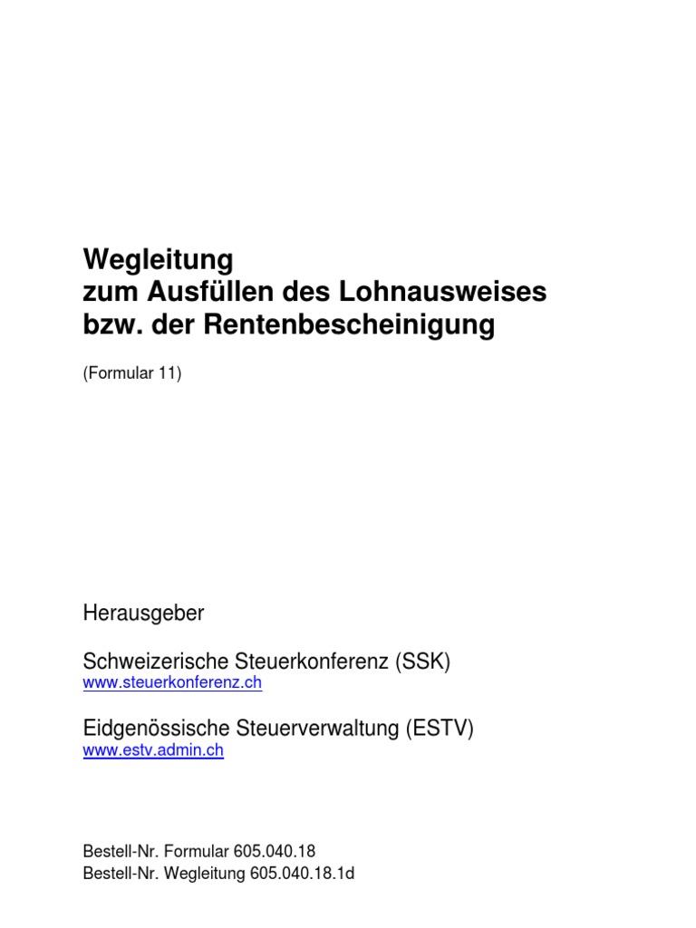 Luxury Format Von Lohnausweis Brief Festooning - FORTSETZUNG ...