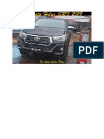 TOYOTA HILUX 2019 ARGENTINO