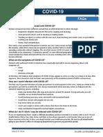 COVID 19 FAQ 03.09.20