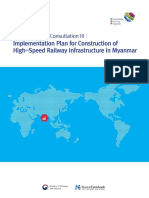 Implementation Plan for Construction of High-Speed Railway Infrastructure in Myanmar (English).pdf