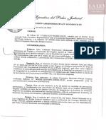 Resolución Administrativa N° 103-2020-CE-PJ