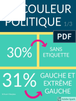Couleurs politiques des listes pour les municipales 2020 en Normandie