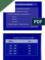 15. y 16. Insuficiencia respiratoria del recién nacido (II). Otras neumopatías neonatales