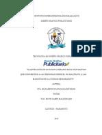PROYECTO GUION LITERARIO- ELIZABETH GUAPACASA ESCOBAR[3021]