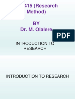 introduction to reseach-1