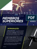 eBook Guia de Treino para Ganho de Massa-