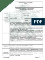 Informe Programa de Formación Complementaria(2)