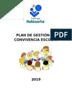PLAN DE GESTIÓN  2019