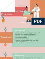 fatigue and back pain NCP presentation