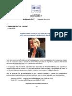 La députée Stéphanie Rist se met à disposition du CHR d'Orléans