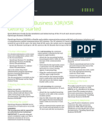 OpenScape Business V1, OpenScape Business X3R_X5R, Getting Started Guide, Issue 1