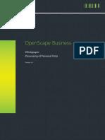 OpenScape Business V2 - Channel Partner - OpenScape Business - Processin...