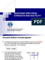 4-RESPONSE SPECTRUM-STRENGTH-DUCTILITY.ppt