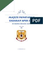 Majlis Penetapan Sasaran UPSR 2020