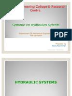 Seminar-report on Hydraulics