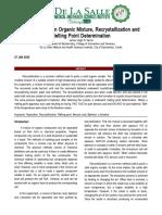 Organic Chemistry Formal Report EXP 2.doc