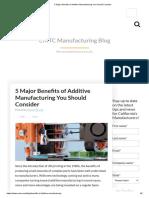 5 Major Benefits of Additive Manufacturing You Should Consider.pdf