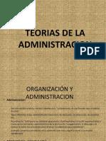 diapositivas teorias organizacionales