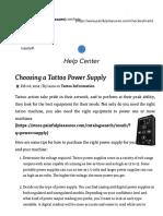 choosing a power supply.pdf