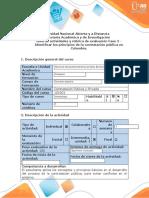 Guia de actividades y rubrica de evaluacion - Fase 2 - Identificar los principios de la contratación pública en Colombia.docx