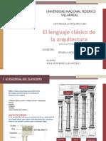 EL LENGUAJE CLÀSICO DE LA ARQUITECTURA.pptx