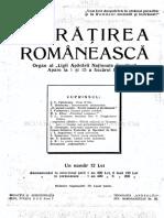 infratirea romaneasca