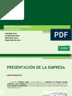 DIAGNÓSTICO AMBIENTAL COLCHONES CUPIDO...pptx