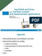 MicroDAQ toolbox - ScilabTEC2015