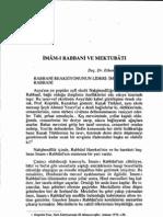 Ethem Cebecioglu - Imami Rabbani Ve Mektubati