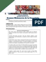 Subsidio 2015 03 - Seamos Misioneros de la Eucaristia