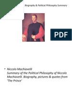 Machiavelli Dan Matlamat Sesebuah Pemerintahan